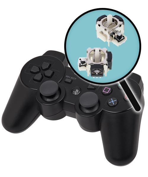 PlayStation 3 Repairs: Controller Analog Joysticks Replacement Service
