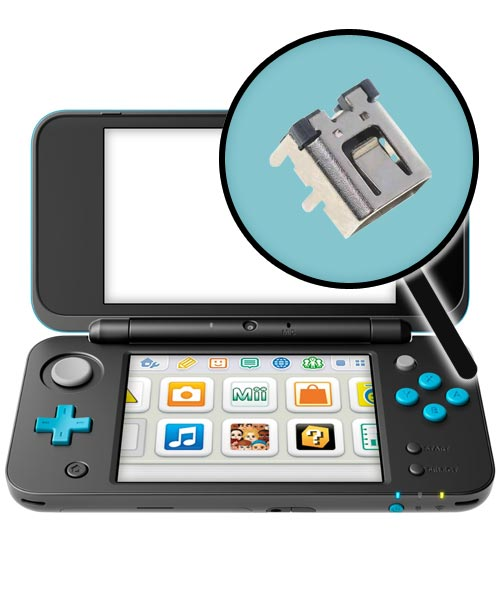 Nintendo New 2DS XL Repairs: Charging Port Replacement Service