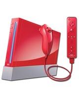 Nintendo Wii Model 2 Refurbished System Red - Grade A