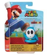 World of Nintendo Light-Blue Shy Guy Action Figure
