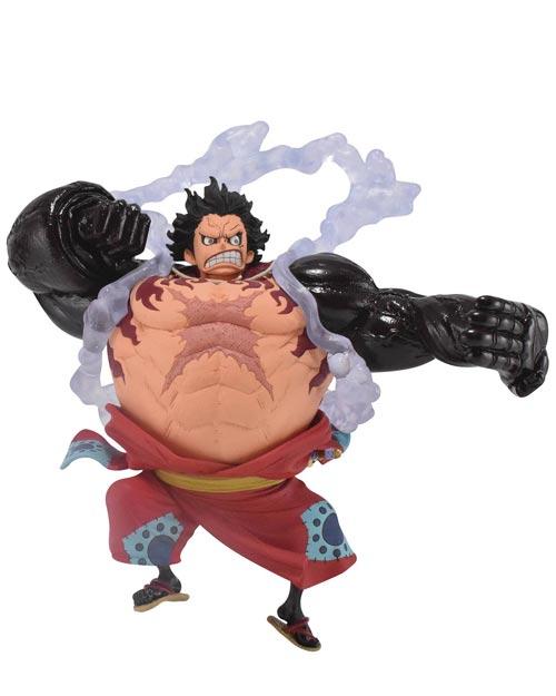 One Piece King of Artist Monkey D Luffy Gear 4 Wano Country Figure