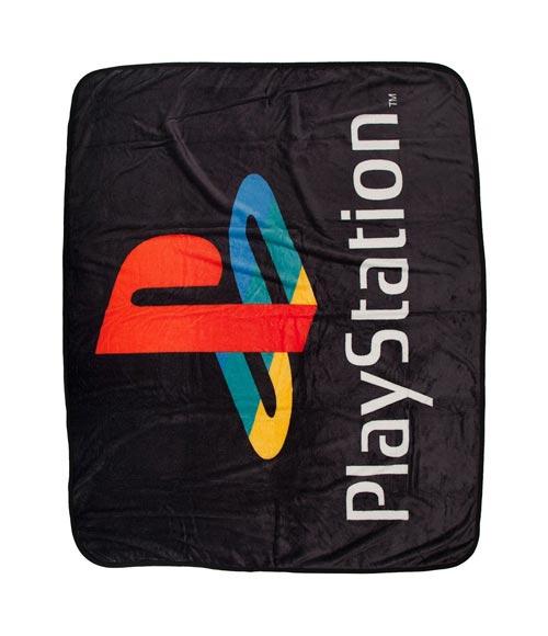 PlayStation Logo Digital Fleece Throw