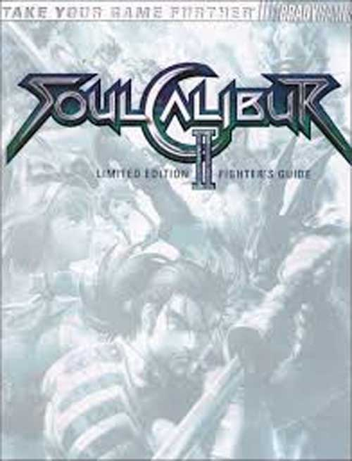 Soul Calibur 2 Official Limited Edition Strategy Guide