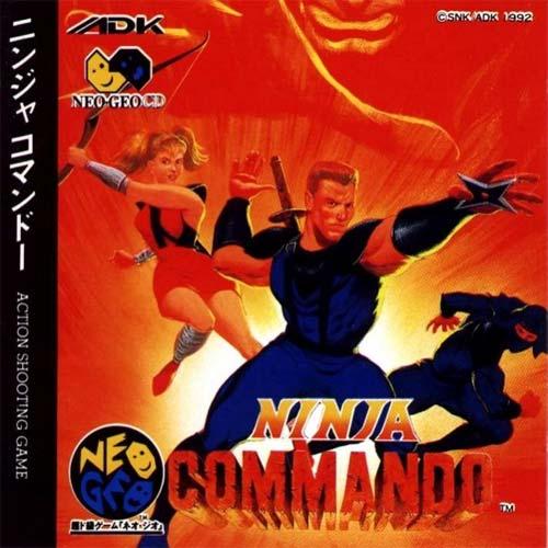Ninja Commando Neo Geo CD