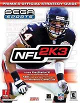 NFL 2K3 Official Strategy Guide Book