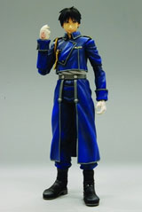 Full Metal Alchemist Brotherhood Play Arts Kai Mustang Action Figure