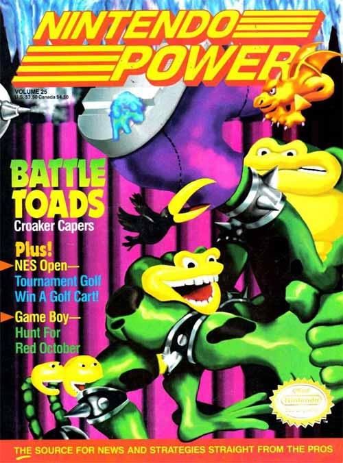Nintendo Power Volume 25 Battle Toads