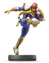 amiibo Captain Falcon Super Smash Bros