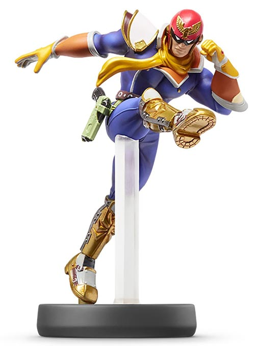 amiibo Captain Falcon Super Smash Bros