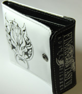 Final Fantasy Advent Children: Cloud Symbol Fenrir White Wallet