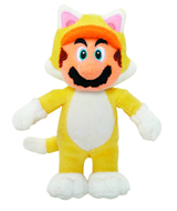 Super Mario 3D World Plush Cat Mario