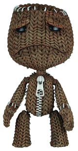 Little Big Planet: Sad Sackboy Figure