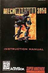 Mech Warrior (Instruction Manual)