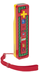 Wii LEGO Red/Yellow Play and Build Remote