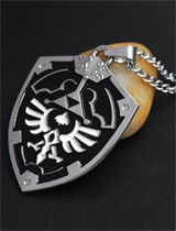 Legend of Zelda Triforce Shield Necklace