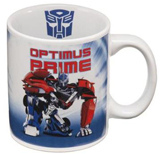 Transformers Prime Optimus 12oz Ceramic Mug