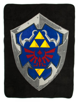 Legend of Zelda: Hylian Shield Plush Throw