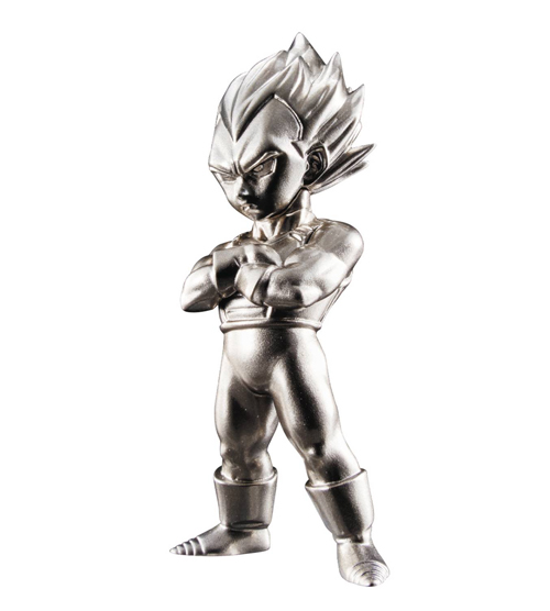 DBZ Super Saiyan Vegeta Absolute Chogokin Mini Fig
