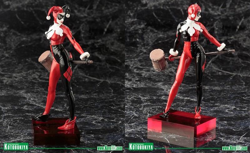 DC Comics Harley Quinn ArtFX+ Statue