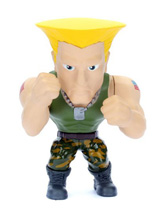Street Fighter Metals Guile Die-Cast 4 Inch Figure