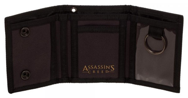 Assassin's Creed Canvas Tri-Fold Wallet Interior Design