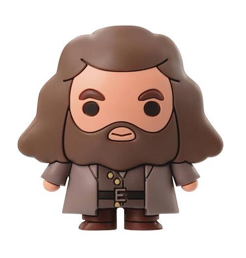 Harry Potter Hagrid 3D Foam Magnet