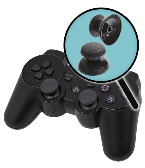 PlayStation 3 Repairs: Controller Two Thumbsticks Replacement Service