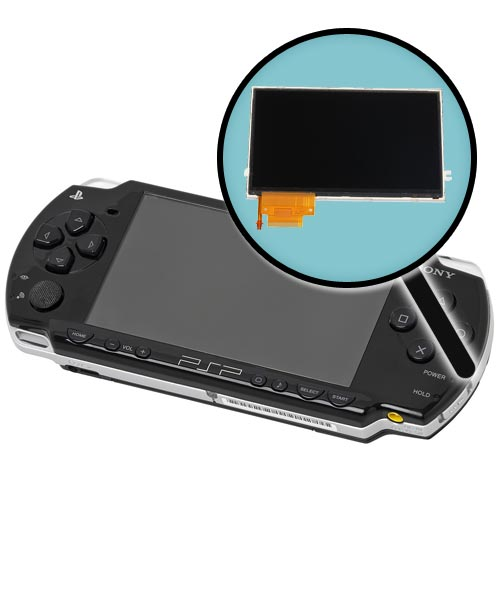 Sony PSP Model 2000 Repairs: LCD Screen Replacement Service