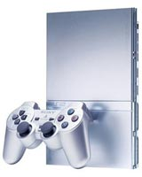 Sony Playstation 2 Slim Silver Refurbished System - Grade A