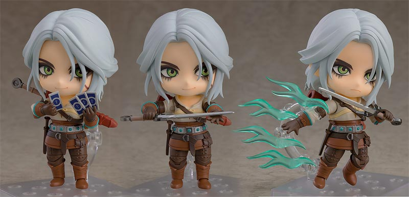 Witcher 3 Wild Hunt Ciri Nendoroid additional poses