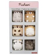 Pusheen Comic Kitties 6 Piece Collector's Box Set
