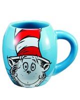 Dr Seuss Cat in the Hat 18 oz Oval Ceramic Mug