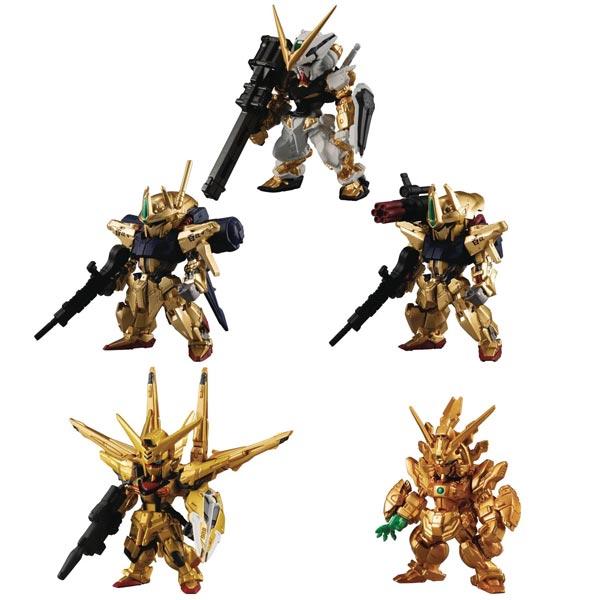 Mobile Suit Gundam FW Gundam Converge Gold Ed Mini Fig all items