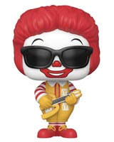 Pop Ad Icons McDonald's Rock Out Ronald McDonald Vinyl Figure