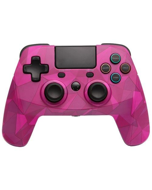 PlayStation 4 GamePad 4 S Wireless Controller Bubblegum Camo Snakebyte