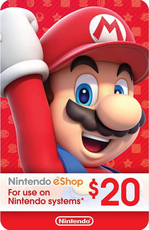 Nintendo eShop Card $20