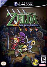 Legend of Zelda: Four Swords Adventures With Link Cable