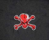 Clover Red Skull Courier Bag