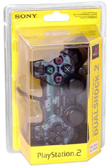 PS2 Controller Slate Gray By Sony
