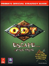 O.D.T. Official Strategy Guide Book