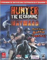 Hunter The Reckoning: Wayward Official Strategy Guide Book