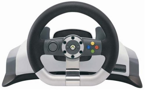 Xbox 360 Wireless Racing Wheel Version 2 by Microsoft
