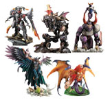 Final Fantasy Creatures Kai 5 Figures Set