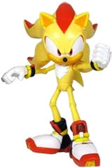 Sonic the Hedgehog: Super Shadow 6 Inch Super Poser Action Figure