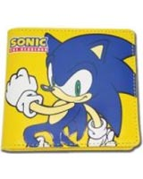 Sonic on Yellow Bi-fold Wallet