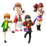 Persona 4 Half Age Character Figures