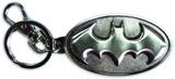 Batman Symbol Pewter Keychain
