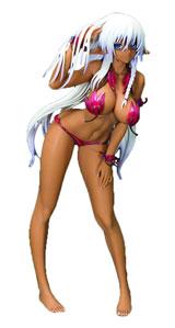 Queen's Blade Beautiful Fighters: Alleyne PVC Figure Color Version