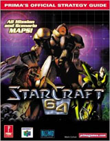 StarCraft 64 Prima Official Strategy Guide