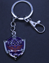 Legend of Zelda: Hylian Shield Keychain